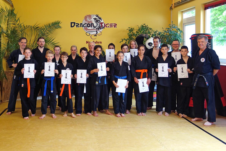 Karateprüfung 14.05.2016
