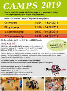 Camp Flyer richtiges Datum